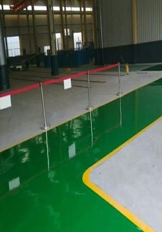 环氧树脂防滑涂装地坪漆厂家